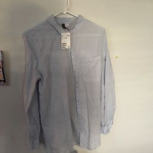 H&M lightweight button down